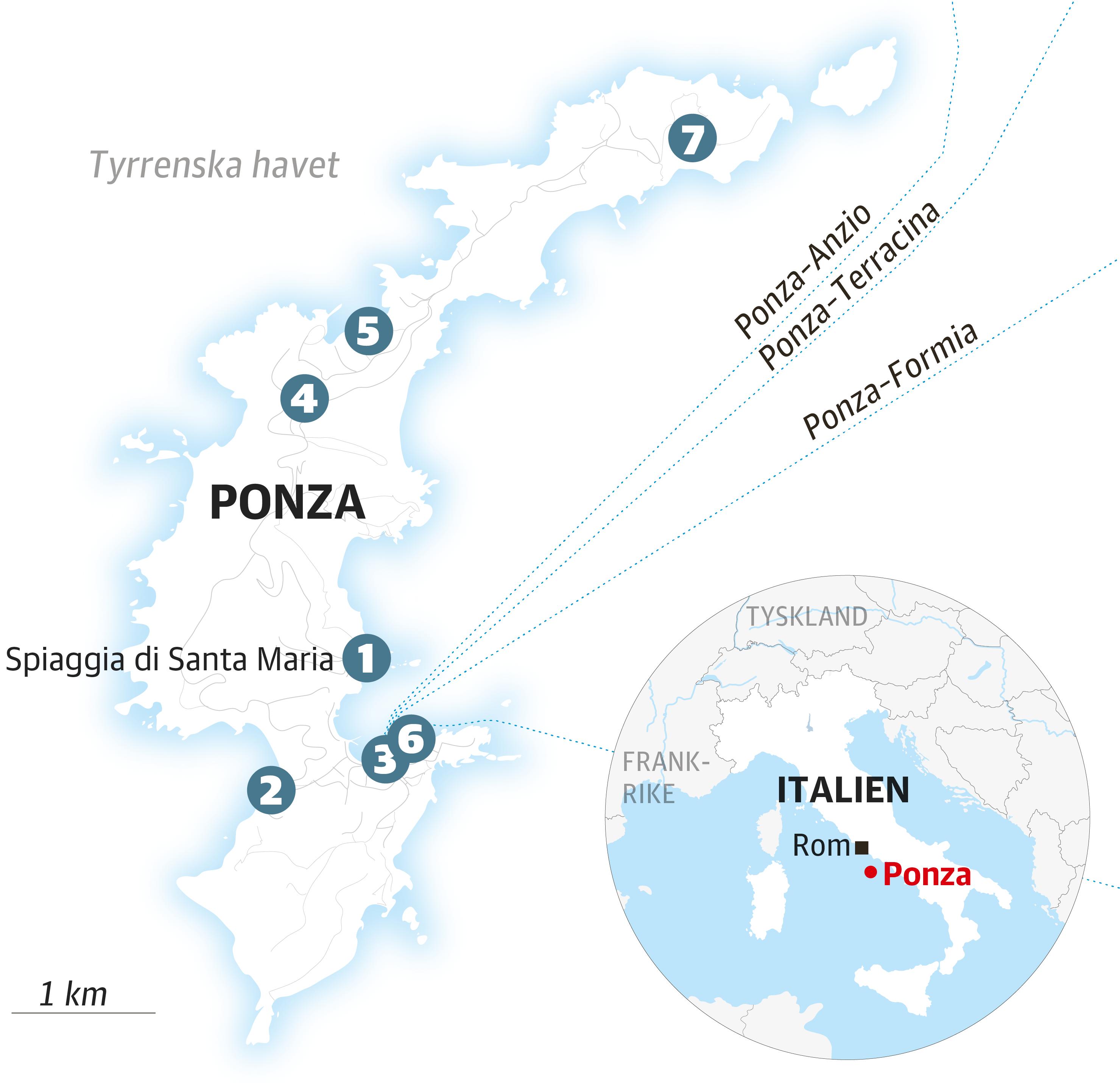 54ab157c Resereportage: Hitta till den italienska ön Ponza - DN.SE
